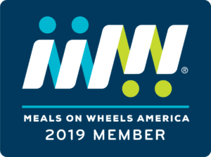 Meals on Wheels America 2019 logo with link